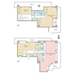 3LDK {building type} in Umibe - Koto-ku Floorplan