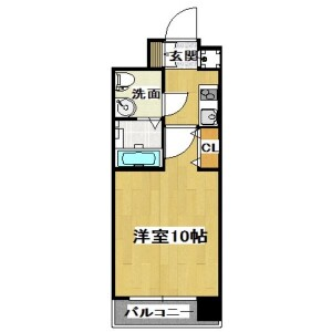1K Mansion in Nippombashi - Osaka-shi Naniwa-ku Floorplan