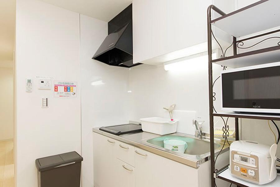 Private Serviced Apartment to Rent in Shinjuku-ku Kitchen