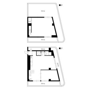 2LDK Mansion in Sendagaya - Shibuya-ku Floorplan