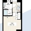 1K Apartment to Rent in Nerima-ku Floorplan