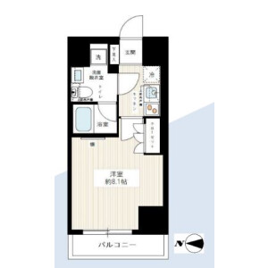 1K Mansion in Sakuradai - Nerima-ku Floorplan