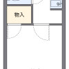 1K Apartment to Rent in Koshigaya-shi Floorplan