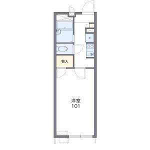 1K Apartment in Hanata - Koshigaya-shi Floorplan