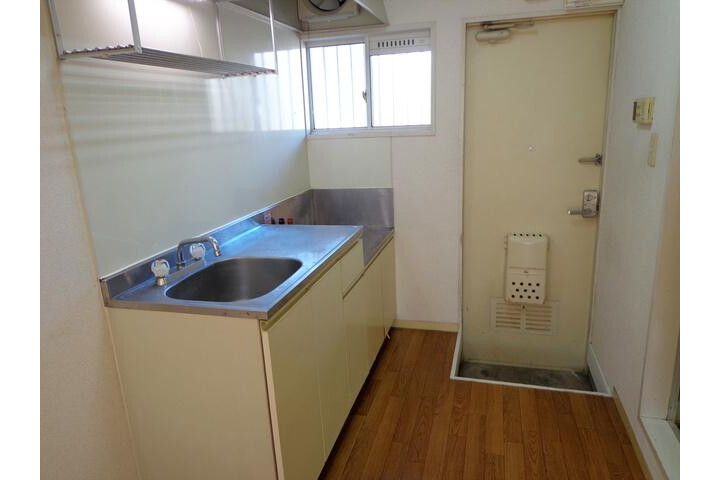 1K Apartment to Rent in Saitama-shi Omiya-ku Kitchen