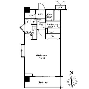 1K Mansion in Yushima - Bunkyo-ku Floorplan