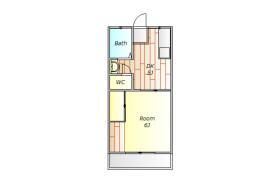 目黒區碑文谷-1DK公寓