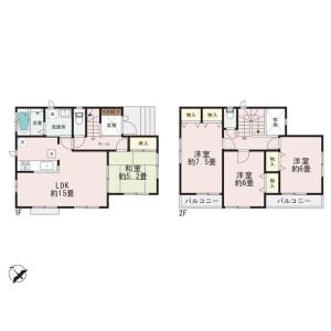 名古屋市天白区 - 高坂町 獨棟住宅 4LDK 房間格局