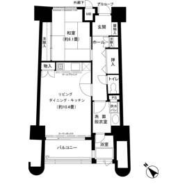 1LDK {building type} in Mikkabicho tsuzuki - Hamamatsu-shi Kita-ku Floorplan