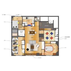 3LDK Mansion in Shinjuku - Shinjuku-ku Floorplan
