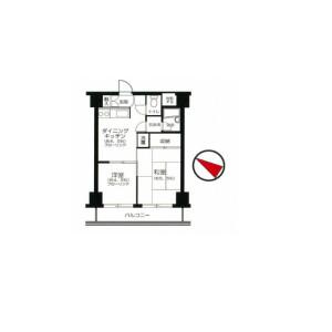 2DK Apartment in Watarida sannocho - Kawasaki-shi Kawasaki-ku Floorplan