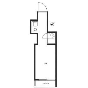 1R Mansion in Kojimachi - Chiyoda-ku Floorplan