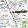 在澀谷區內租賃2SLDK 公寓大廈 的房產 地圖