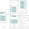 2LDK House to Rent in Osaka-shi Konohana-ku Floorplan