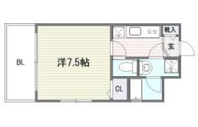 1K {building type} in Minato - Fukuoka-shi Chuo-ku
