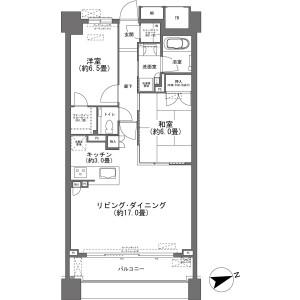 2LDK {building type} in Kasugacho - Atami-shi Floorplan