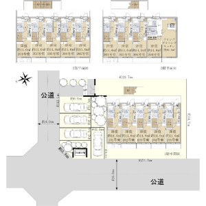 Whole Building {building type} in Minamisenju - Arakawa-ku Floorplan