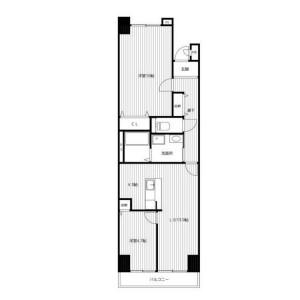 2LDK Mansion in Chojamachi - Yokohama-shi Naka-ku Floorplan