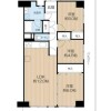 2LDK Apartment to Buy in Osaka-shi Asahi-ku Floorplan