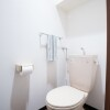 1LDK Apartment to Rent in Sapporo-shi Chuo-ku Toilet
