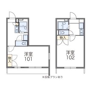 1K Mansion in Kamata - Setagaya-ku Floorplan