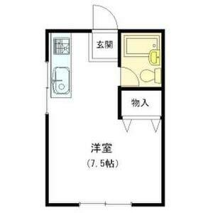 1R Mansion in Kemacho - Osaka-shi Miyakojima-ku Floorplan