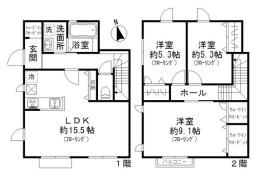 3LDK Apartment in Tamagawadenenchofu - Setagaya-ku