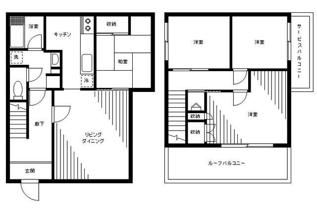 4LDK House to Buy in Shibuya-ku Floorplan