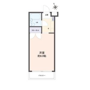 名古屋市昭和区 - 川名町 公寓 1R 房間格局