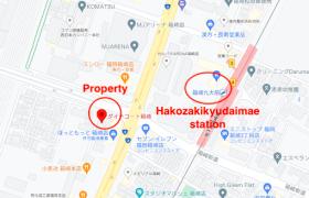 1K {building type} in Hakozaki - Fukuoka-shi Higashi-ku