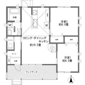 2LDK {building type} in Sengokuhara - Ashigarashimo-gun Hakone-machi Floorplan