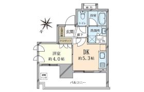 1DK {building type} in Shoto - Shibuya-ku