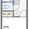 1K Apartment to Rent in Chiba-shi Hanamigawa-ku Floorplan
