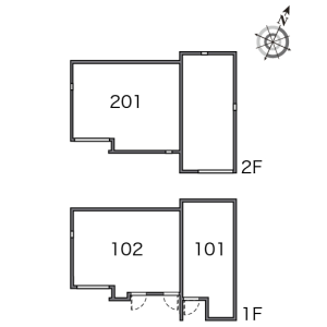 1K Apartment in Ikegami - Ota-ku Floorplan
