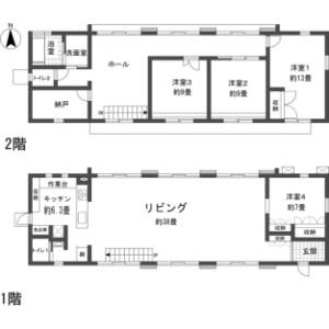 4LDK {building type} in Kabira - Ishigaki-shi Floorplan