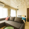 1K Serviced Apartment to Rent in Osaka-shi Naniwa-ku Bedroom