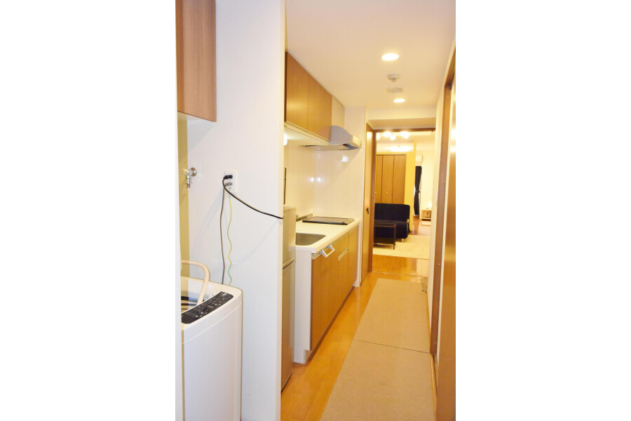 1LDK Apartment to Rent in Osaka-shi Chuo-ku Entrance