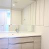 4LDK Apartment to Rent in Minato-ku Washroom
