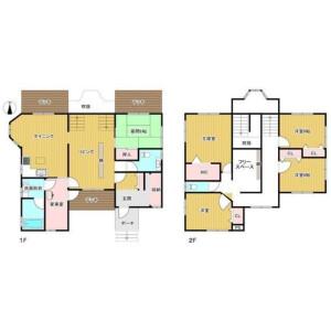 5SLDK {building type} in Hokujo - Kitaazumi-gun Hakuba-mura Floorplan