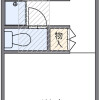 1K Apartment to Rent in Fussa-shi Floorplan
