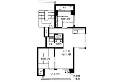 2LDK Apartment to Rent in Setagaya-ku Exterior
