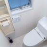 在港區內租賃4DK 公寓大廈 的房產 廁所