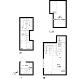 1R Mansion in Suido - Bunkyo-ku Floorplan