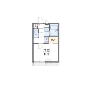 1K Apartment in Bainan - Osaka-shi Nishinari-ku Floorplan