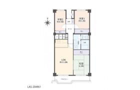 3LDK Apartment in Hasamacho - Funabashi-shi