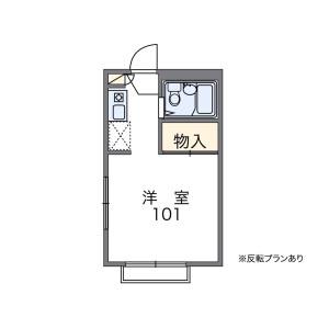 1K Apartment in Arima - Kawasaki-shi Miyamae-ku Floorplan