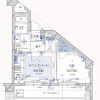 1DK Apartment to Rent in Chiyoda-ku Floorplan
