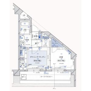1DK Mansion in Kudamminami - Chiyoda-ku Floorplan