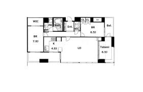 3LDK Apartment in Shimmachi - Osaka-shi Nishi-ku