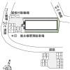 1K アパート 平塚市 配置図